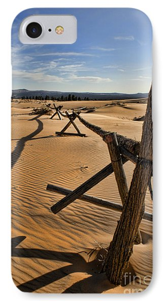 Sand Phone Case by Heather Applegate