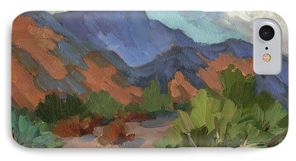 Santa Rosa Mountains IPhone Case by Diane McClary