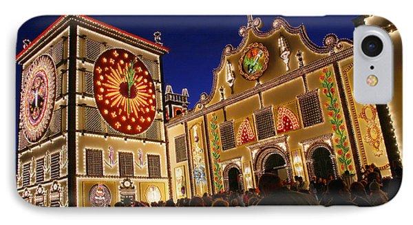 Santo Cristo Festivities Phone Case by Gaspar Avila