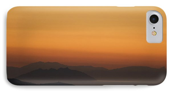 Santo Stefano Coastline At Sunset Phone Case by Axiom Photographic