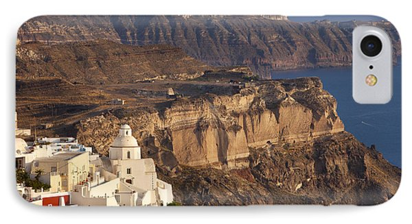Santorini Phone Case by Brian Jannsen