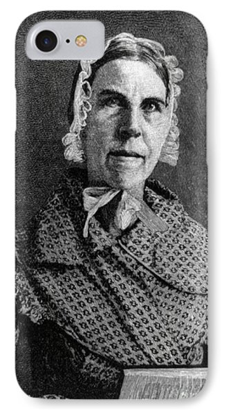 Sarah Moore Grimk�, American IPhone Case by Photo Researchers