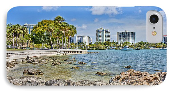 Sarasota Bayfront Paradise IPhone Case