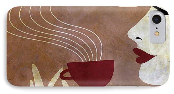 Sassy Lady Coffee IPhone Case