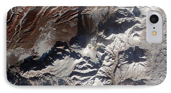 Satellite Image Of Russias Kizimen Phone Case by Stocktrek Images