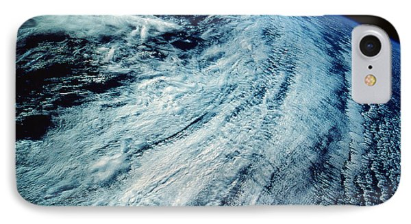 Satellite Images Of Storm Patterns Phone Case by Stocktrek Images