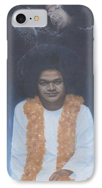 Sathya Sai Baba Divine II Phone Case by Anne Provost