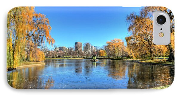 Saturday In The Park IPhone Case by JC Findley