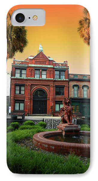 IPhone Case featuring the photograph Savannah Cotton Exchange by Paul Mashburn