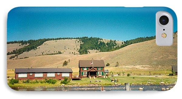 Sawtooth Mountains Campsite Phone Case by Douglas Barnett