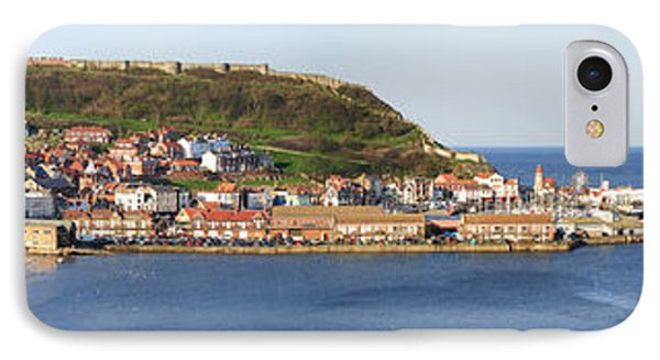 Scarborough Panorama Phone Case by Jane Rix
