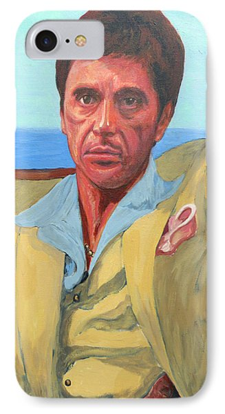 Scarface - Tony Montana IPhone Case by Tom Roderick