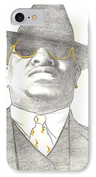 Scarface Phone Case by Lee McCormick