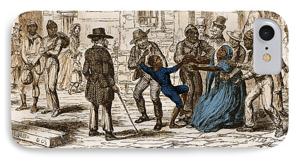 Scene From Uncle Toms Cabin Phone Case by Photo Researchers