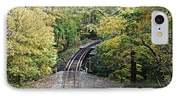 Scenic Railway Tracks Phone Case by Susan Leggett