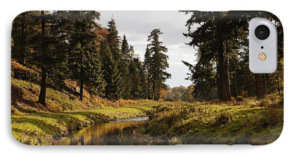 Scenic River, Northumberland, England Phone Case by John Short