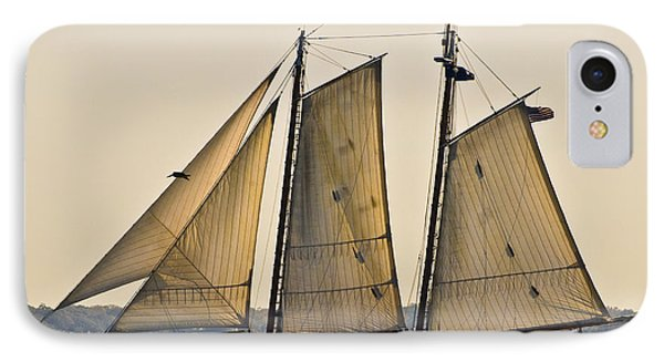 Scenic Schooner Phone Case by Al Powell Photography USA