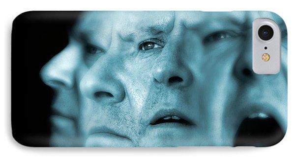 Schizophrenia, Conceptual Image IPhone Case