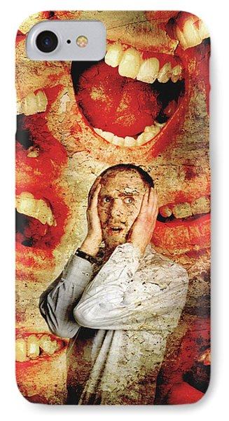 Schizophrenia Phone Case by Tim Vernon, Lth Nhs Trust