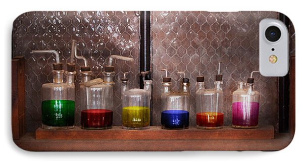 Science - Chemist - Glassware For Couples Phone Case by Mike Savad