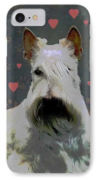 Scottish Terrier IPhone Case by One Rude Dawg Orcutt