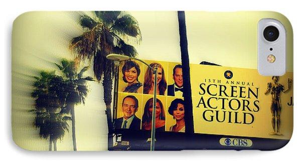 Screen Actors Guild In La Phone Case by Susanne Van Hulst
