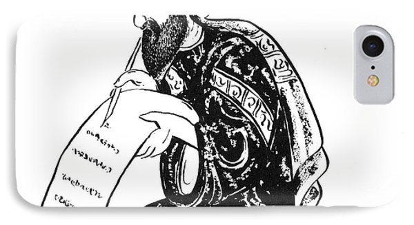 Scribe: Arab, 14th Century Phone Case by Granger