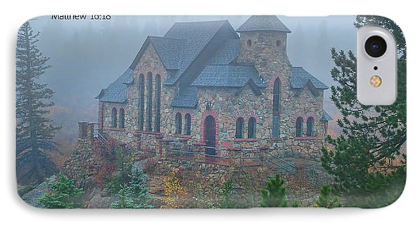 Scripture And Picture Matthew 16 18 Phone Case by Ken Smith