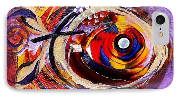 Scripture Fish Phone Case by J Vincent Scarpace