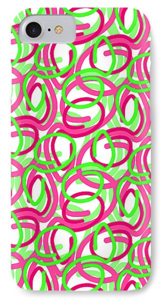 Scroll Phone Case by Louisa Knight