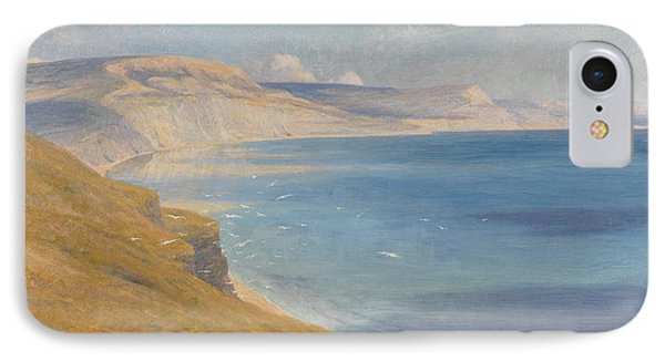 Sea And Sunshine   Lyme Regis Phone Case by Sir Frank Dicksee