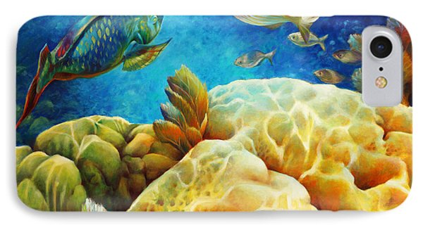 Sea Escape I - Color Queens Phone Case by Nancy Tilles