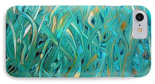 Sea Of Grass IPhone Case by Mary Kay Holladay