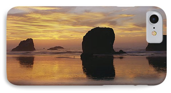 Sea Stacks Phone Case by Chromosohm Media Inc and Photo Researchers