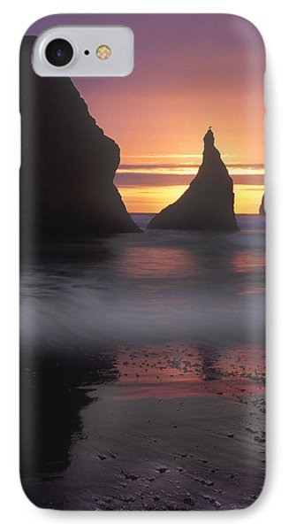 Sea Stacks Off The Oregon Coast Phone Case by Dave Mills