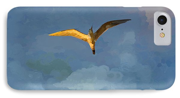 Seagull Sunrise Phone Case by Miguel Pumarejo