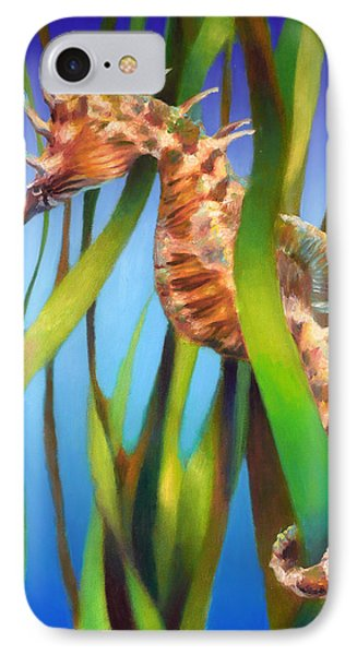 Seahorse II Among The Reeds IPhone Case