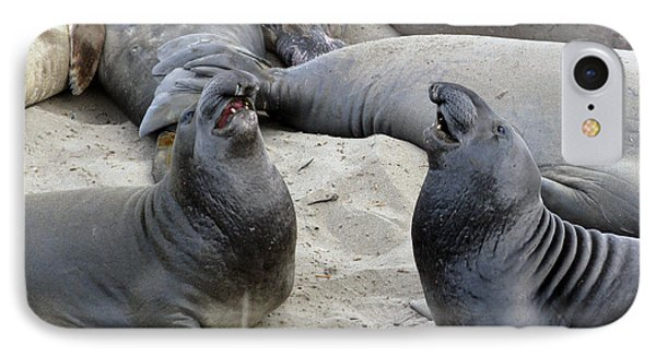 Seal Spa. Men's Talk2 Phone Case by Ausra Huntington nee Paulauskaite