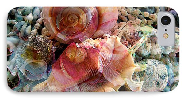 Seashell Reflections Phone Case by Shirley Sirois
