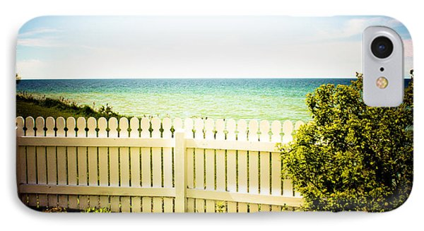 Seaside Retreat IPhone Case by Sara Frank