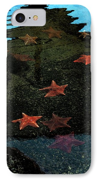 Seastars IPhone Case by Karen Harrison