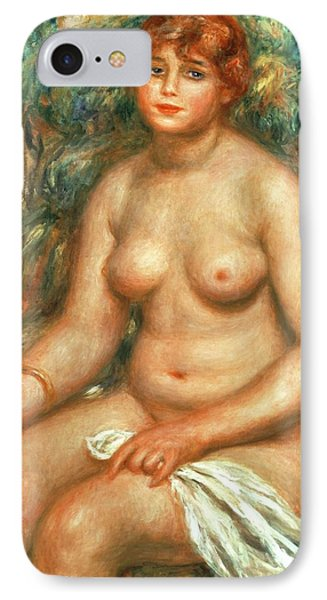 Seated Bather IPhone Case