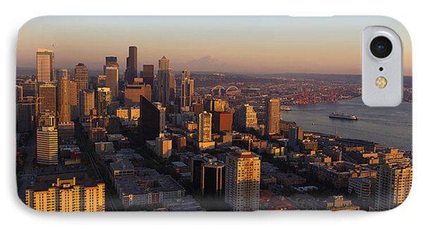 Seattle Blue Hour Phone Case by Heidi Smith