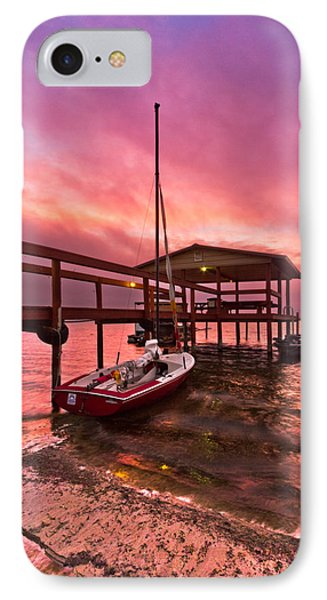 Sebring Sailing Phone Case by Debra and Dave Vanderlaan