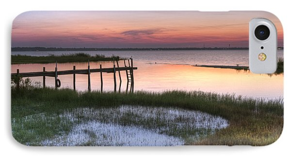 Sebring Sunrise Phone Case by Debra and Dave Vanderlaan