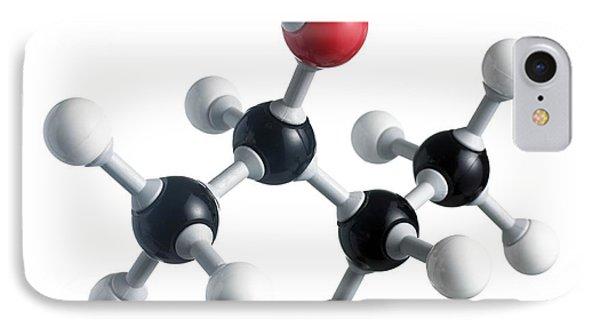 Sec-butanol Molecule Phone Case by