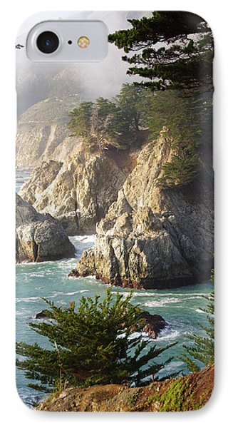 Secluded Big Sur Cove 1 Phone Case by Jeff Lowe