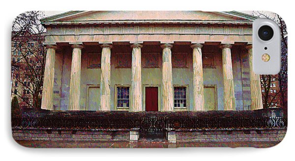 Second Bank Of The United States Philadelphia Pa Phone Case by Bill Cannon