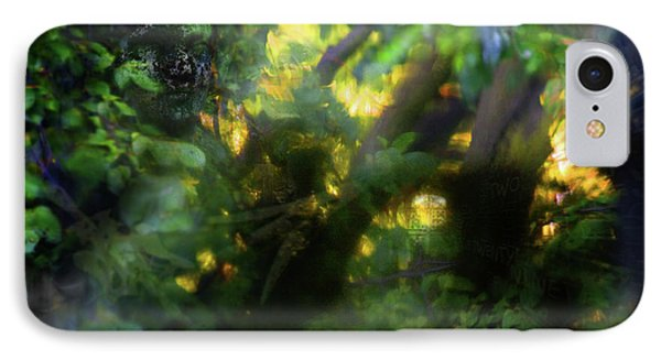 IPhone Case featuring the photograph Secret Forest by Richard Piper