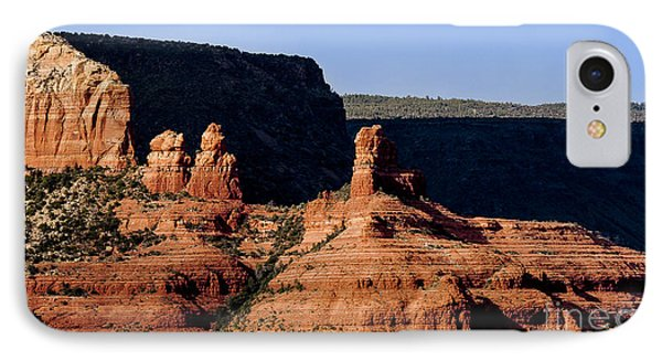 Sedona Shadows IPhone Case by Darcy Michaelchuk